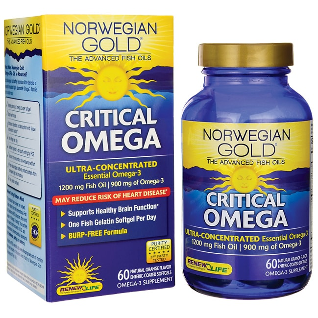 Renew LifeNorwegian Gold Critical Omega