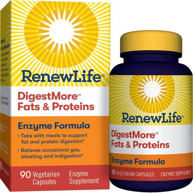 Renew LifeDigestMore Fats & Proteins Enzyme Formula
