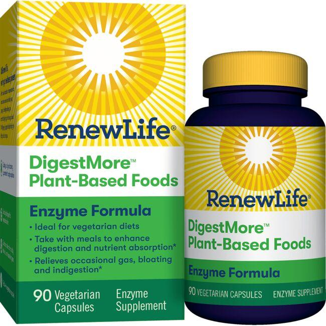 Renew LifeDigestMore Plant-Based Foods Enzyme Formula