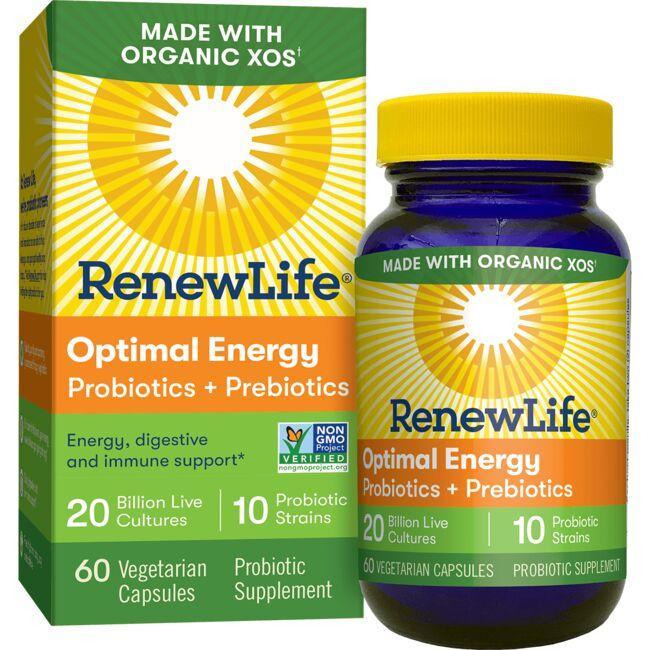 Renew LifeOptimal Energy Probiotics & Prebiotics