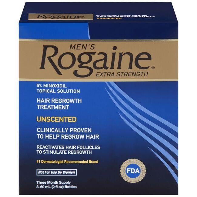 Rogaine Men's Rogaine Extra Strength - 3 Month Supply