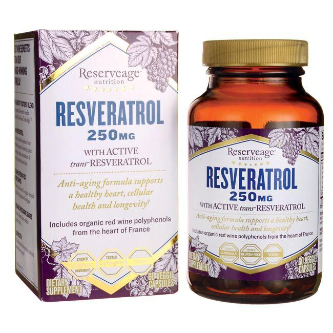 Reserveage NutritionResveratrol with Active transResveratrol