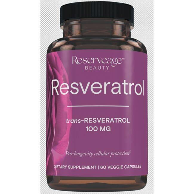 Reserveage NutritionResveratrol with Active transResveratrol