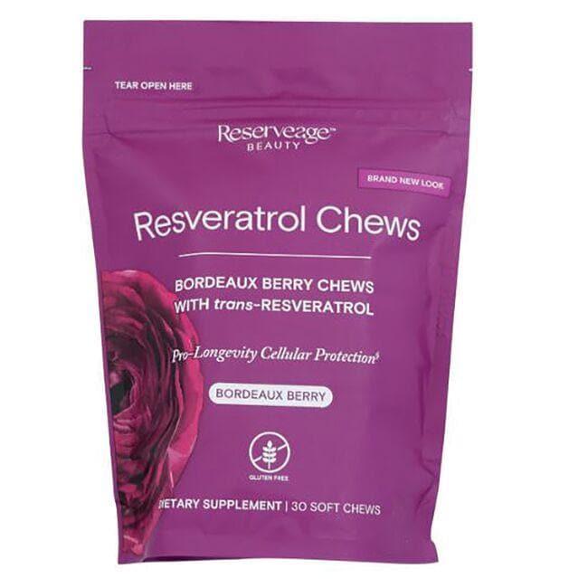 Reserveage NutritionResveratrol Chews - Bordeaux Berry