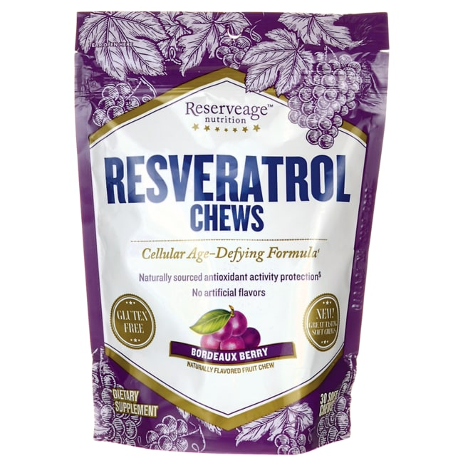 Reserveage NutritionResveratrol Chews - Bordeaux Berry