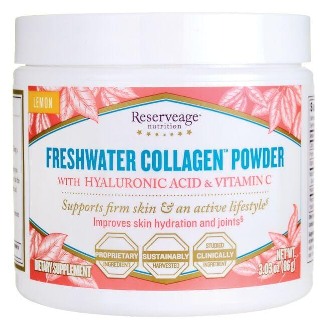 Reserveage NutritionFreshwater Collagen Powder - Lemon
