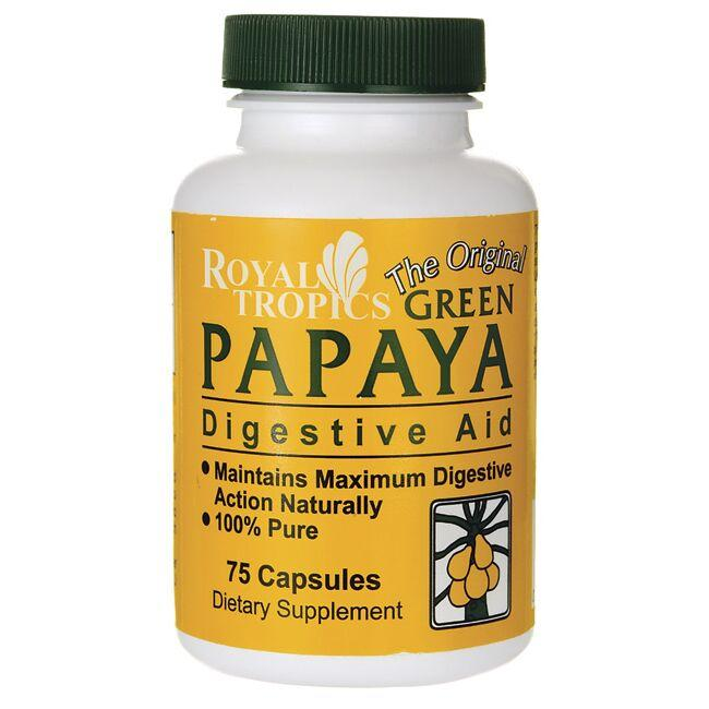 Royal Tropics The Original Green Papaya Digestive Aid
