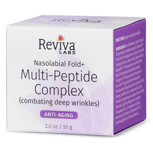 Reviva LabsNasolabial Fold + Multi-Peptide Cream