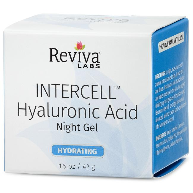 Reviva Intercell Day Face Cream For Normal To Dry Skin With Hyaluronic Acid- 1.5 Oz, 2 Pack clinique twice a daily essentials 5 pcs kit for combination oily to oily skin