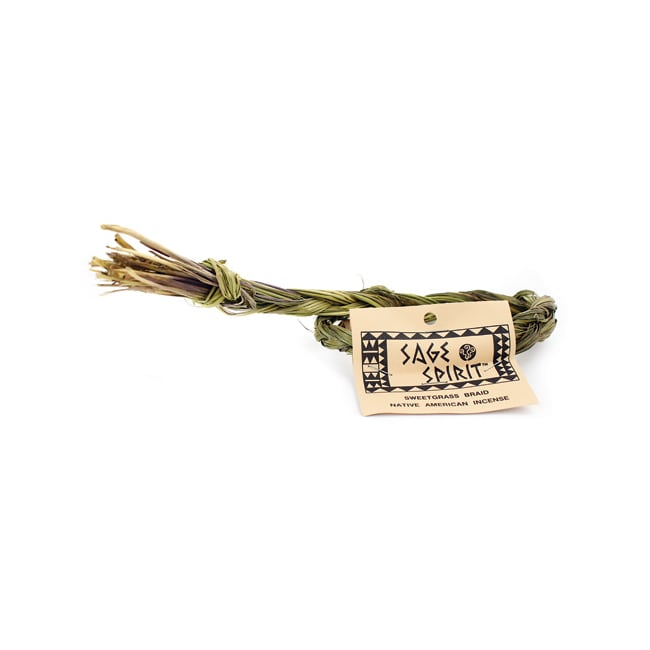 Sage SpiritSweetgrass Braid Native American Incense