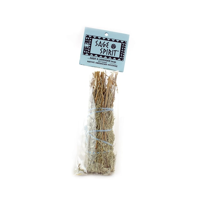 Sage Spirit Sage and Lavender Native American Incense Large 6-7 Inches
