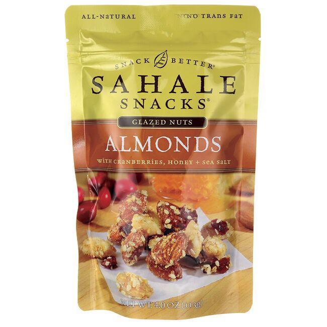 Sahale SnacksGlazed Nuts - Almonds with Cranberries, Honey + Sea Salt
