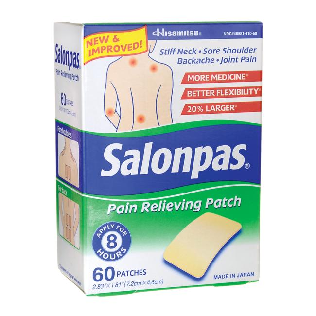SalonpasPain Relieving Patch