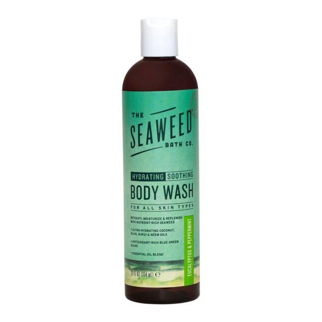 The Seaweed Bath Co. Wildly Natural Seaweed Body Wash - Eucalyptus & Peppermint