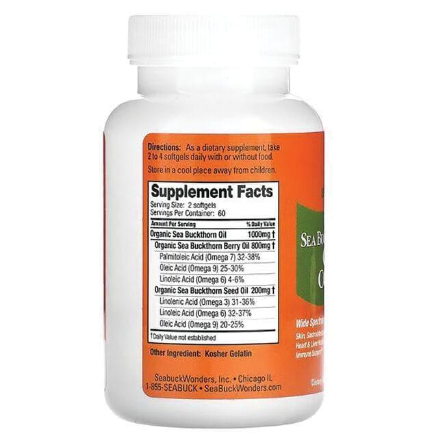 SeabuckWondersSea Buckthorn Omega-7 Complete Close Up