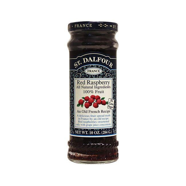 St. DalfourFruit Spread 100% Natural Red Raspberry