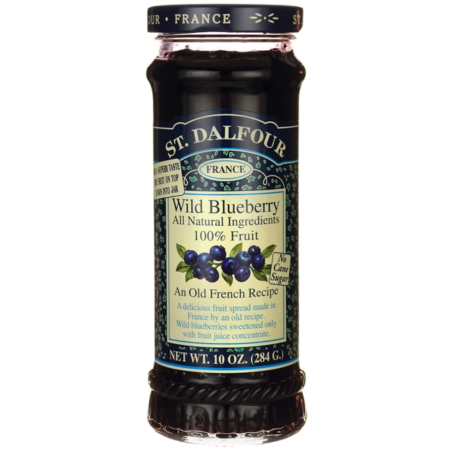 St. Dalfour Fruit Spread 100% Natural Wild Blueberry