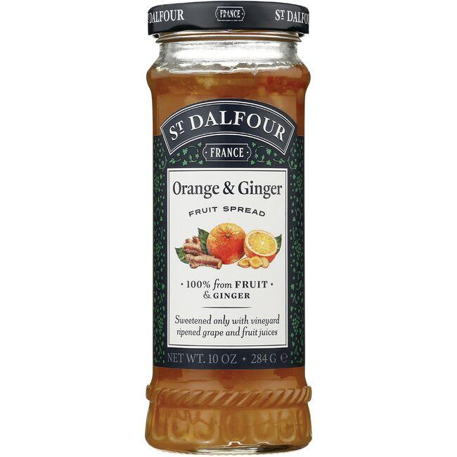 St. DalfourFruit Spread - Ginger & Orange Marmalade
