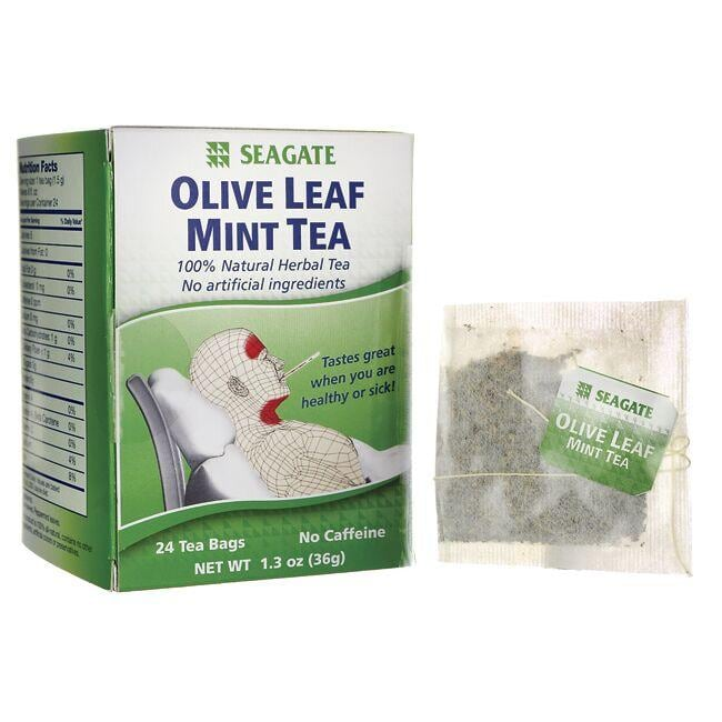SeagateOlive Leaf Mint Tea