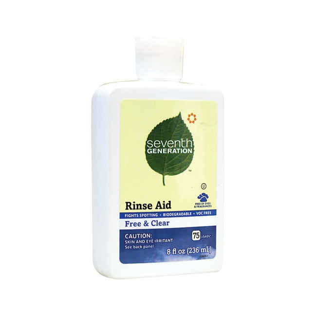 Seventh Generation Rinse Aid Free and Clear