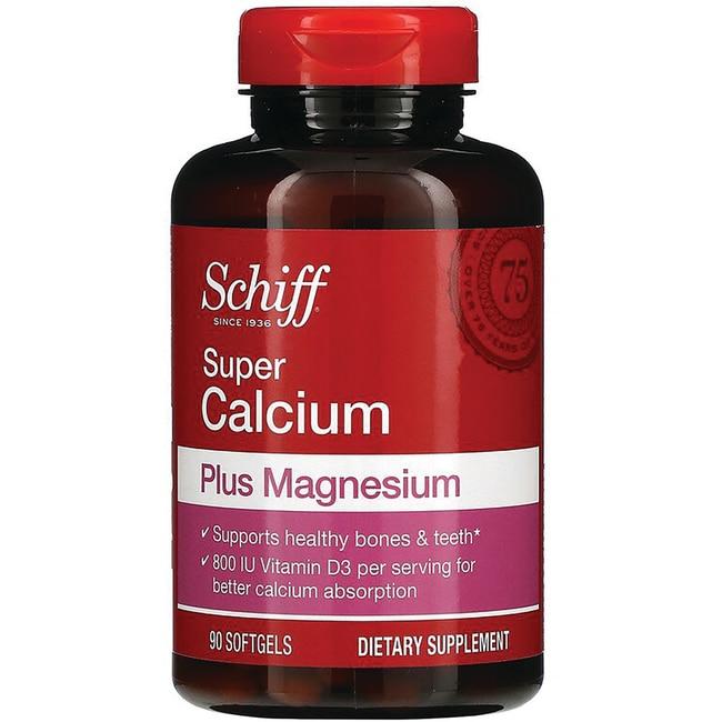Schiff Super Calcium Plus Magnesium