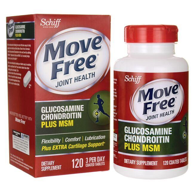 SchiffMove Free Joint Health Glucosamine Chondroitin Plus MSM