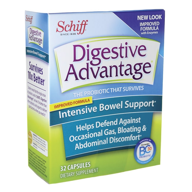 SchiffDigestive Advantage Intensive Bowel Support