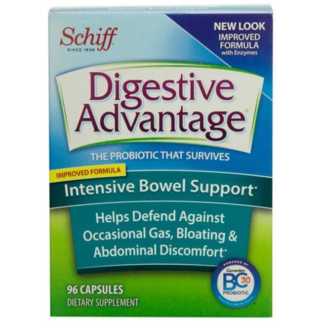 Schiff Digestive Advantage - Intensive Bowel Support