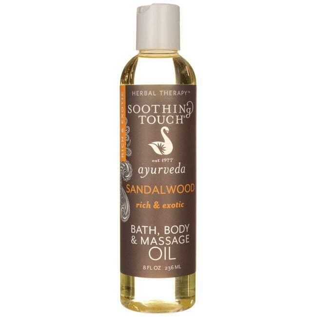 Soothing TouchBath, Body and Massage Oil - Sandalwood