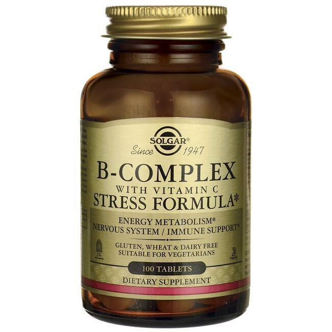 SolgarB-Complex with Vitamin C Stress Formula