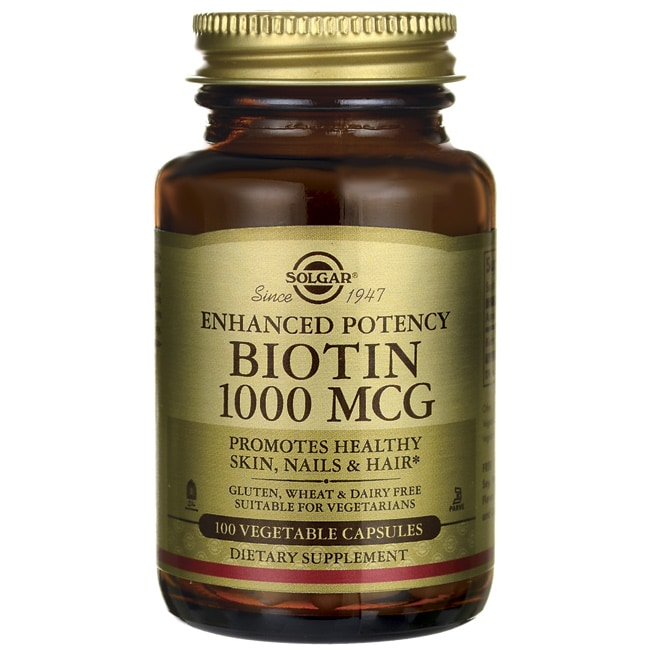 SolgarEnhanced Potency Biotin