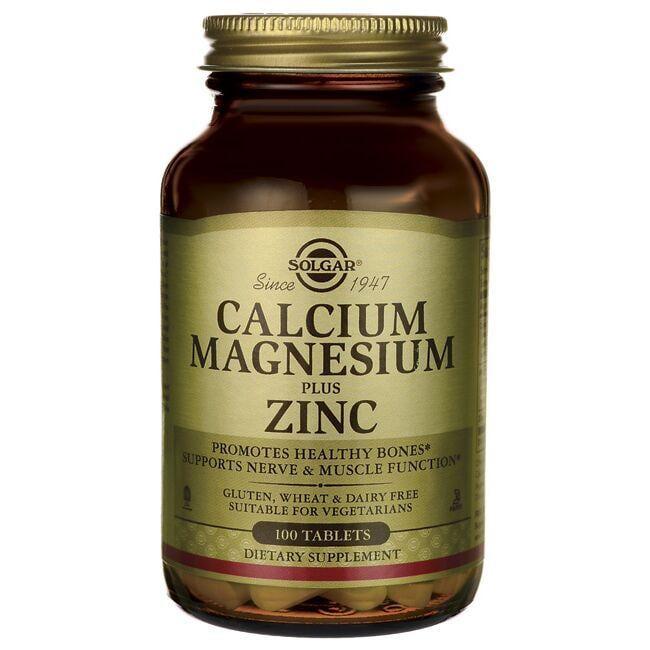 SolgarCalcium Magnesium Plus Zinc