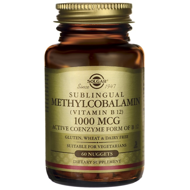 SolgarSublingual Methylcobalamin