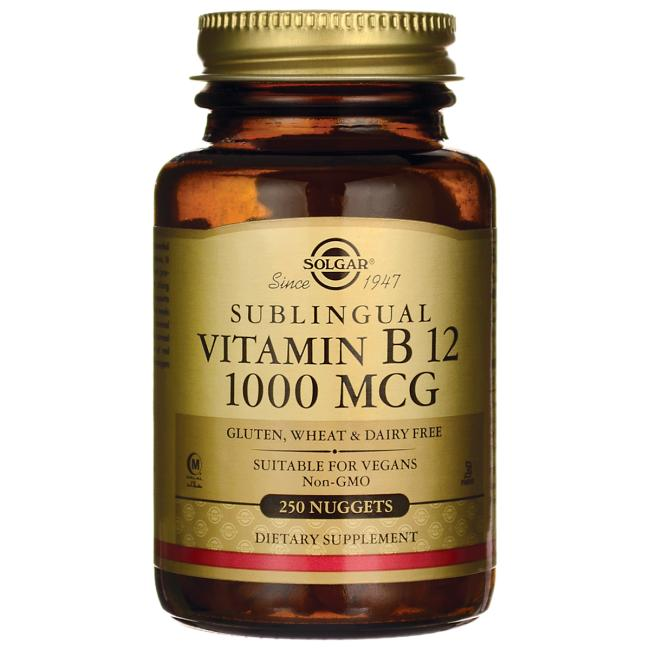 Solgar Sublingual Vitamin B 12