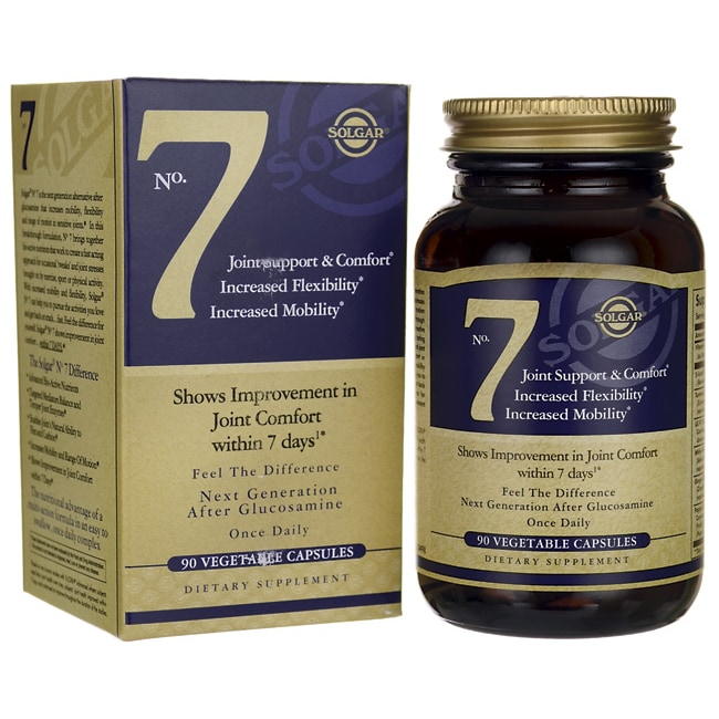 Amazon.com: Solgar - No 7 Joint Support (Multipack) 90 Vcaps ...