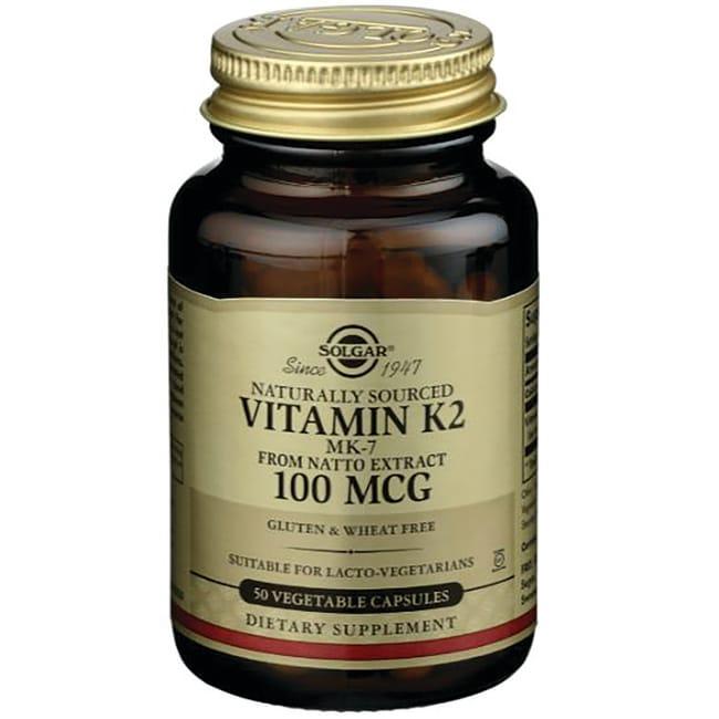 Solgar Natural Vitamin K2 (MK-7)