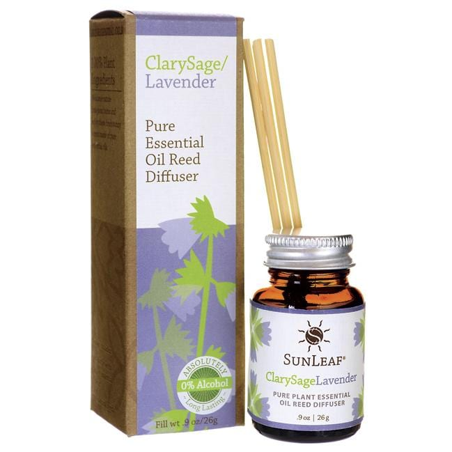 Sunleaf Naturals Pure Essential Reed Diffuser - ClarySage/Lavender