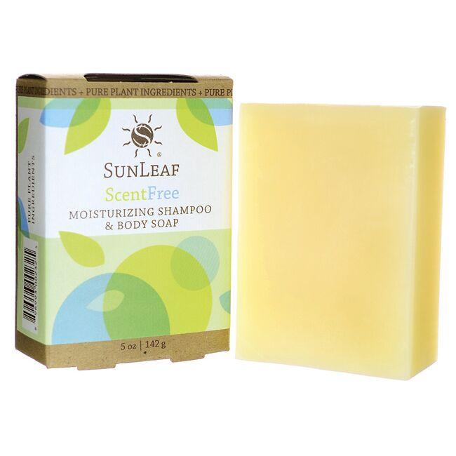 Sunleaf Naturals Moisturizing Shampoo and Body Soap - Scent Free