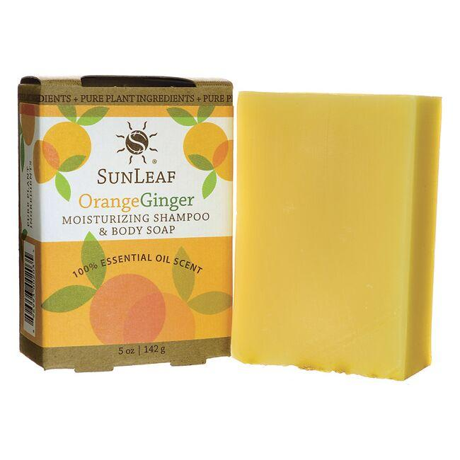Sunleaf NaturalsMoisturizing Shampoo and Body Soap - Orange Ginger