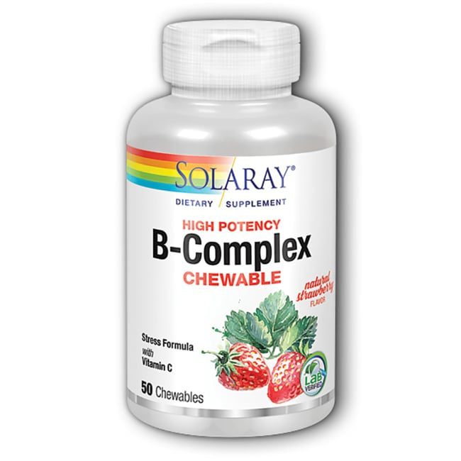 SolarayB-Complex Chewable Strawberry/Kiwi