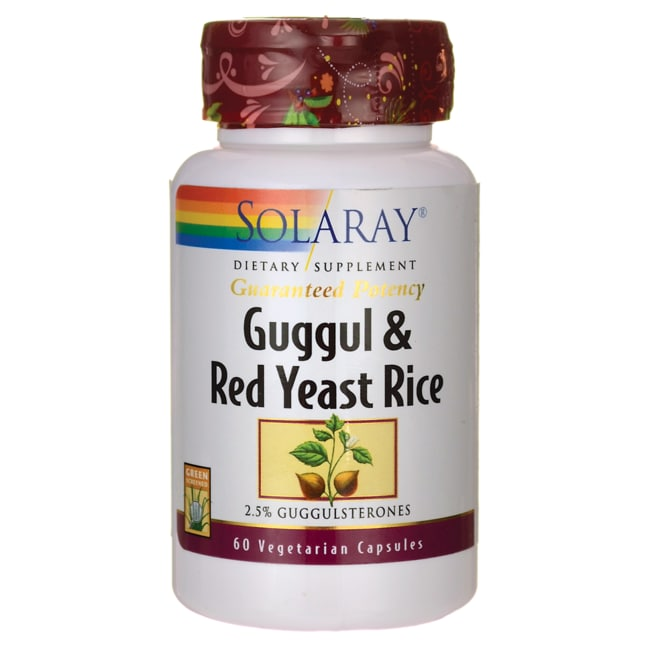 SolarayGuggul & Red Yeast Rice