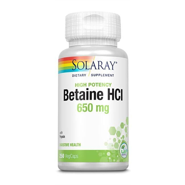 Solaray High Potency HCL with Pepsin