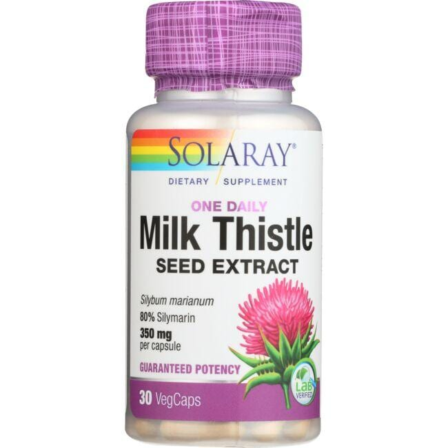 Solaray One Daily Milk Thistle