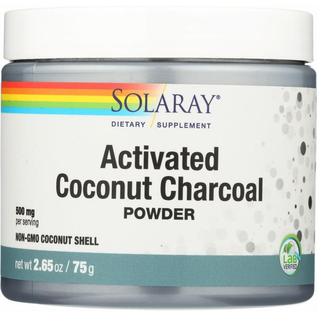 Solaray Activated Coconut Charcoal Powder