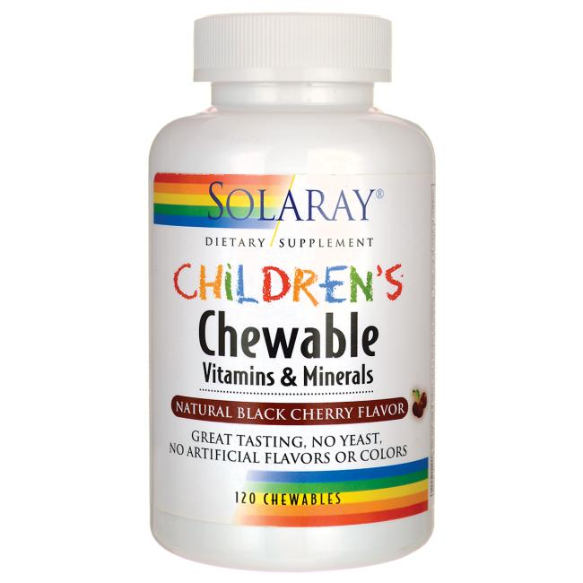 SolarayChildren's Chewable - Black Cherry
