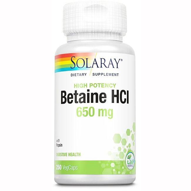 Solaray HCL with Pepsin