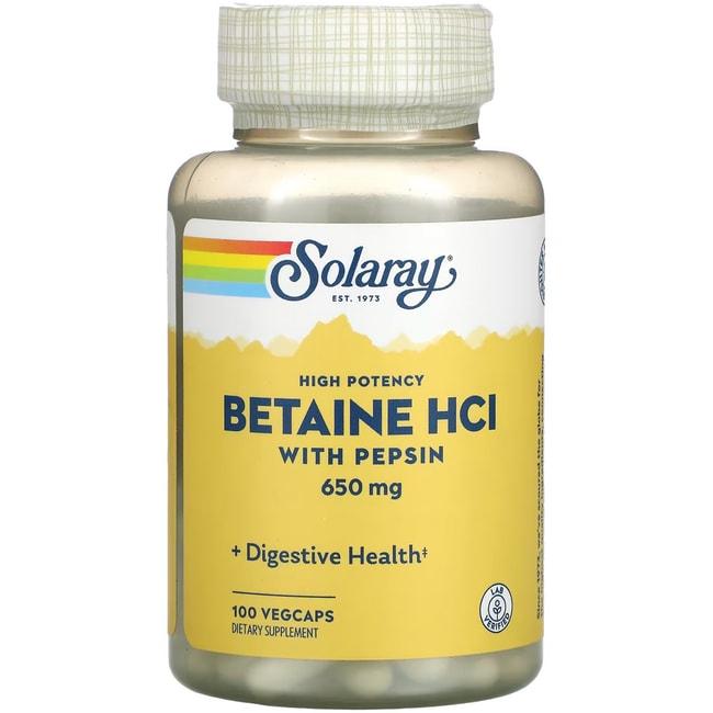 Solaray hcl