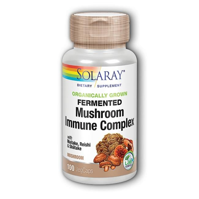 SolarayFermented Immune Mushroom Complex