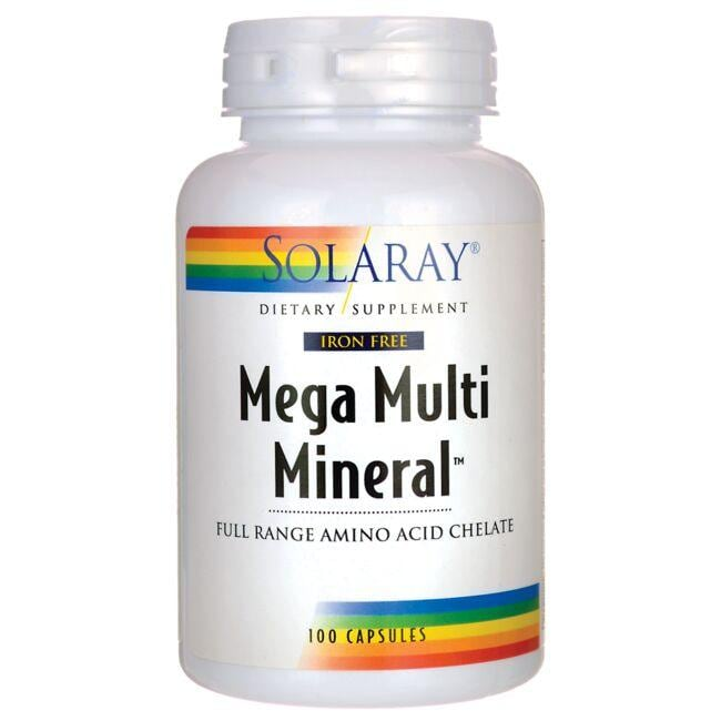 Solaray Iron Free Mega Multi Mineral