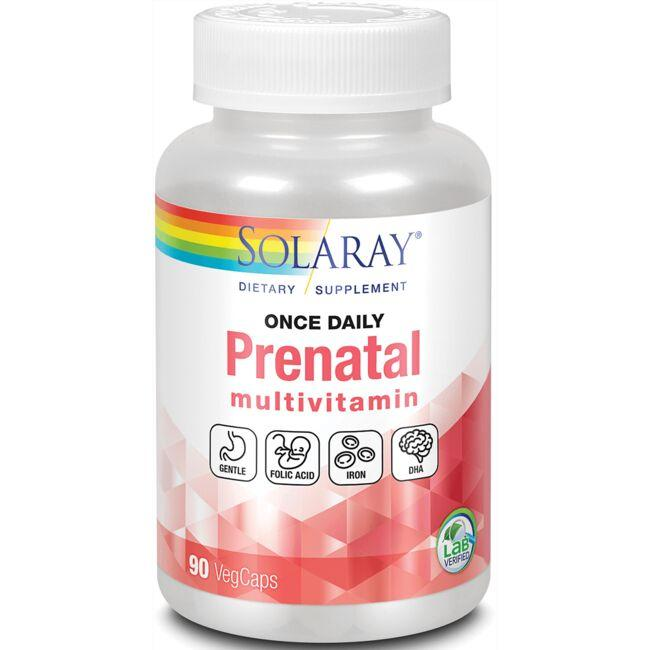 Solaray Food Based Once Daily Prenatal